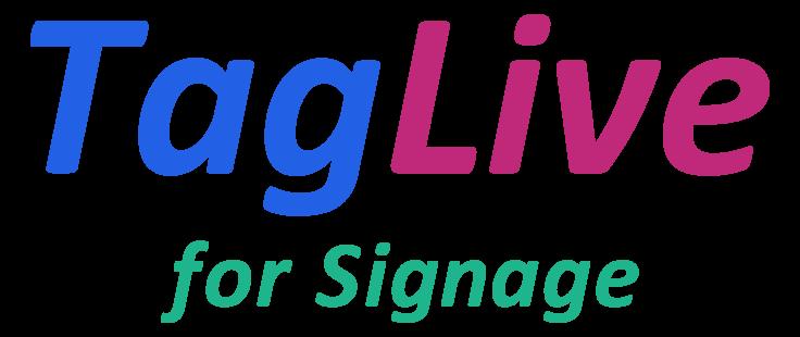 SNS投稿自動収集型サイネージ表示システム「タグライブ for Signage」をリリース